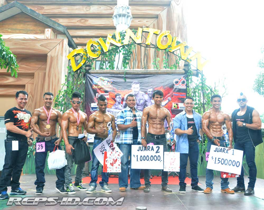 Body contest jungle land 2014 - Reps Indonesia - Fitness ...