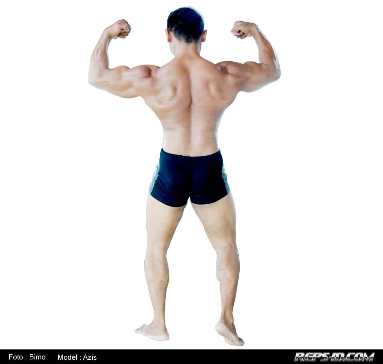 Back-double-biceps