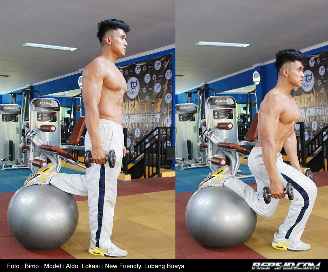 1.stationary-lunges