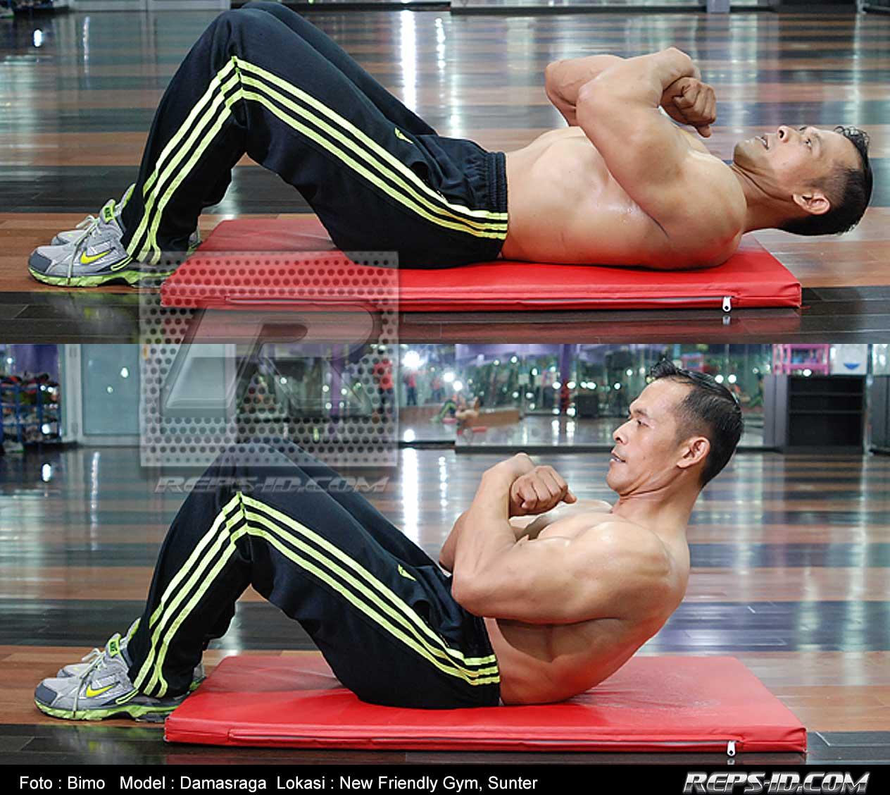 1damas--abdominal-crunches