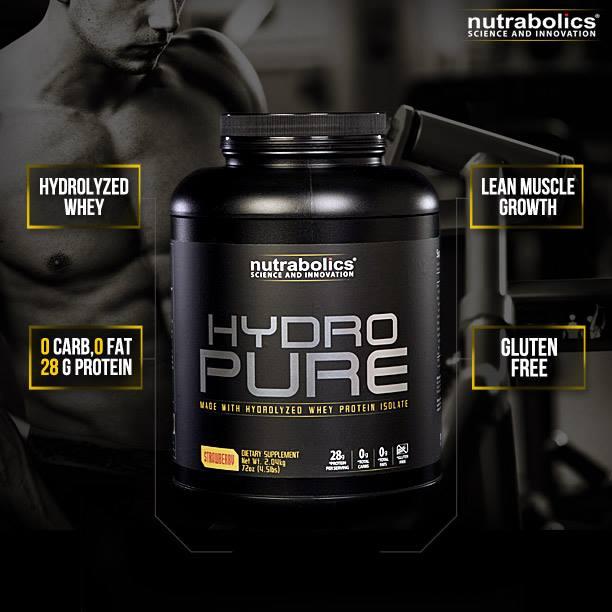 Znalezione obrazy dla zapytania nutrabolics hydro pure