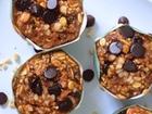 oat banana muffin