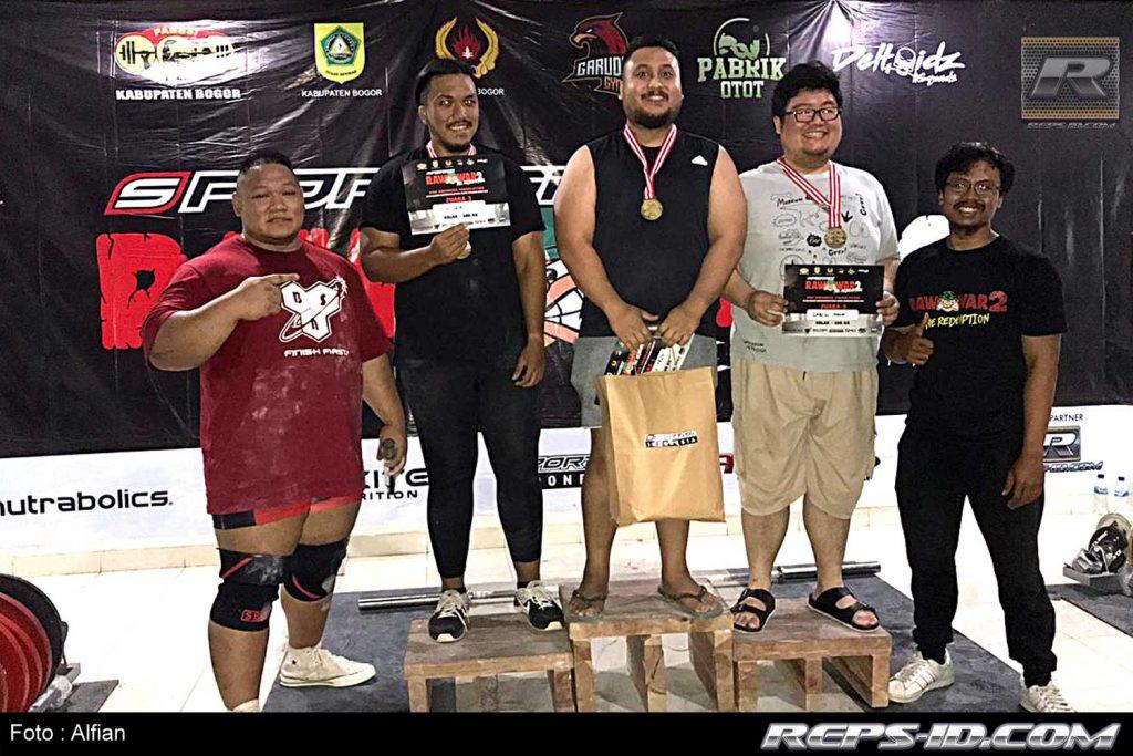 pemenang over 100kg