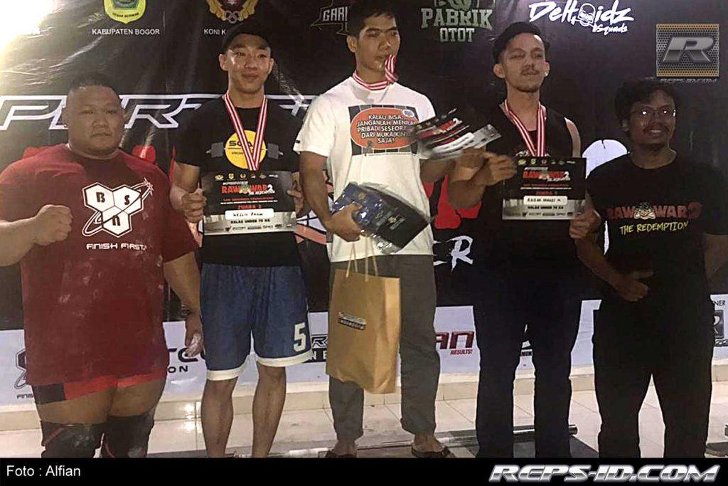 pemenang  under 70kg
