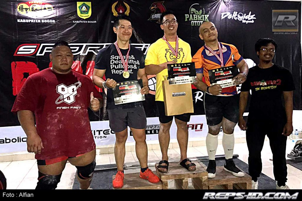 pemenang under 90kg