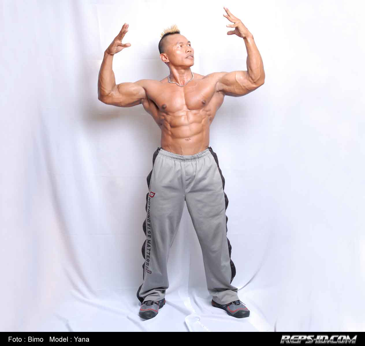 Front-body-pose