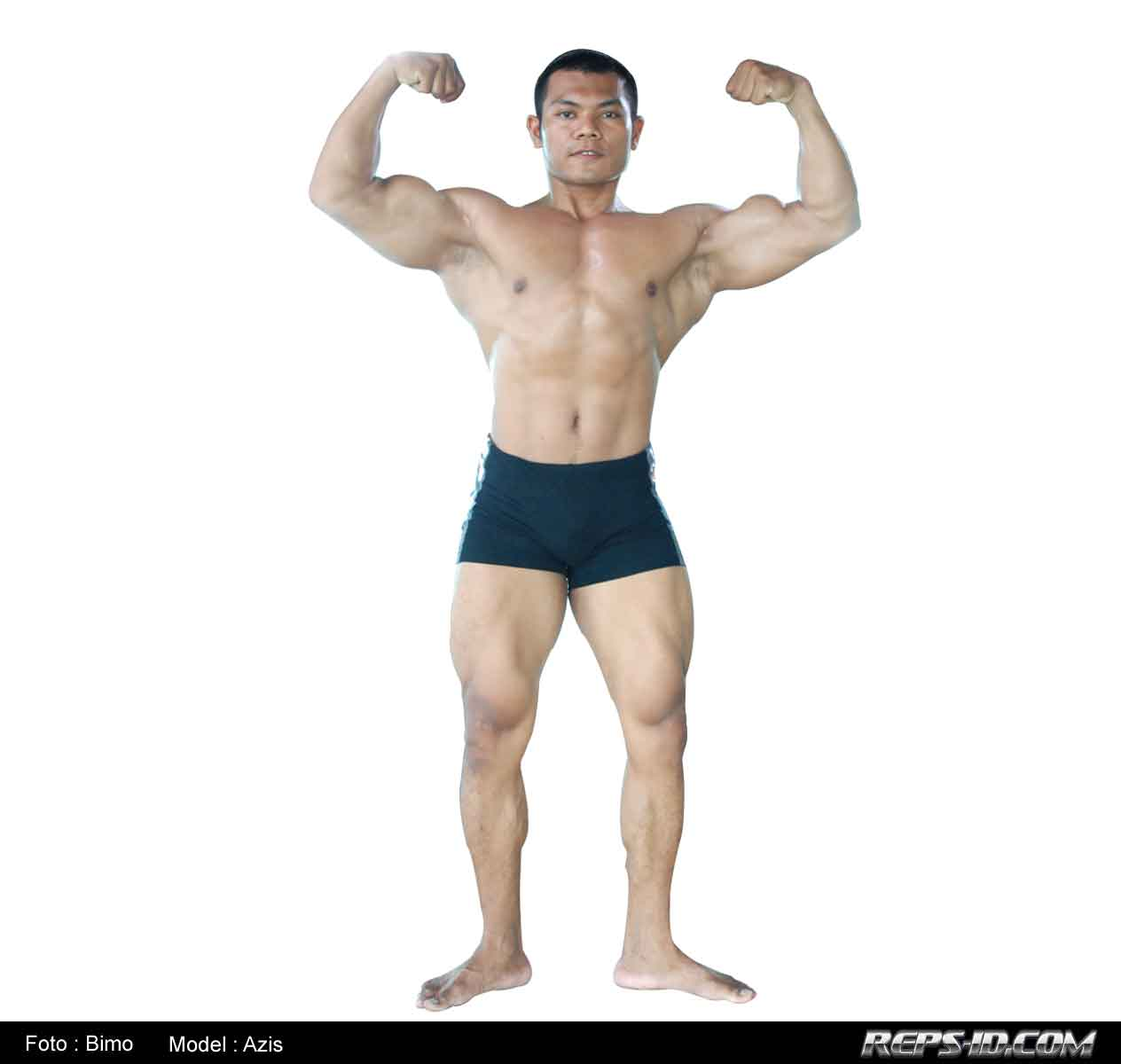 Front-double-bicep