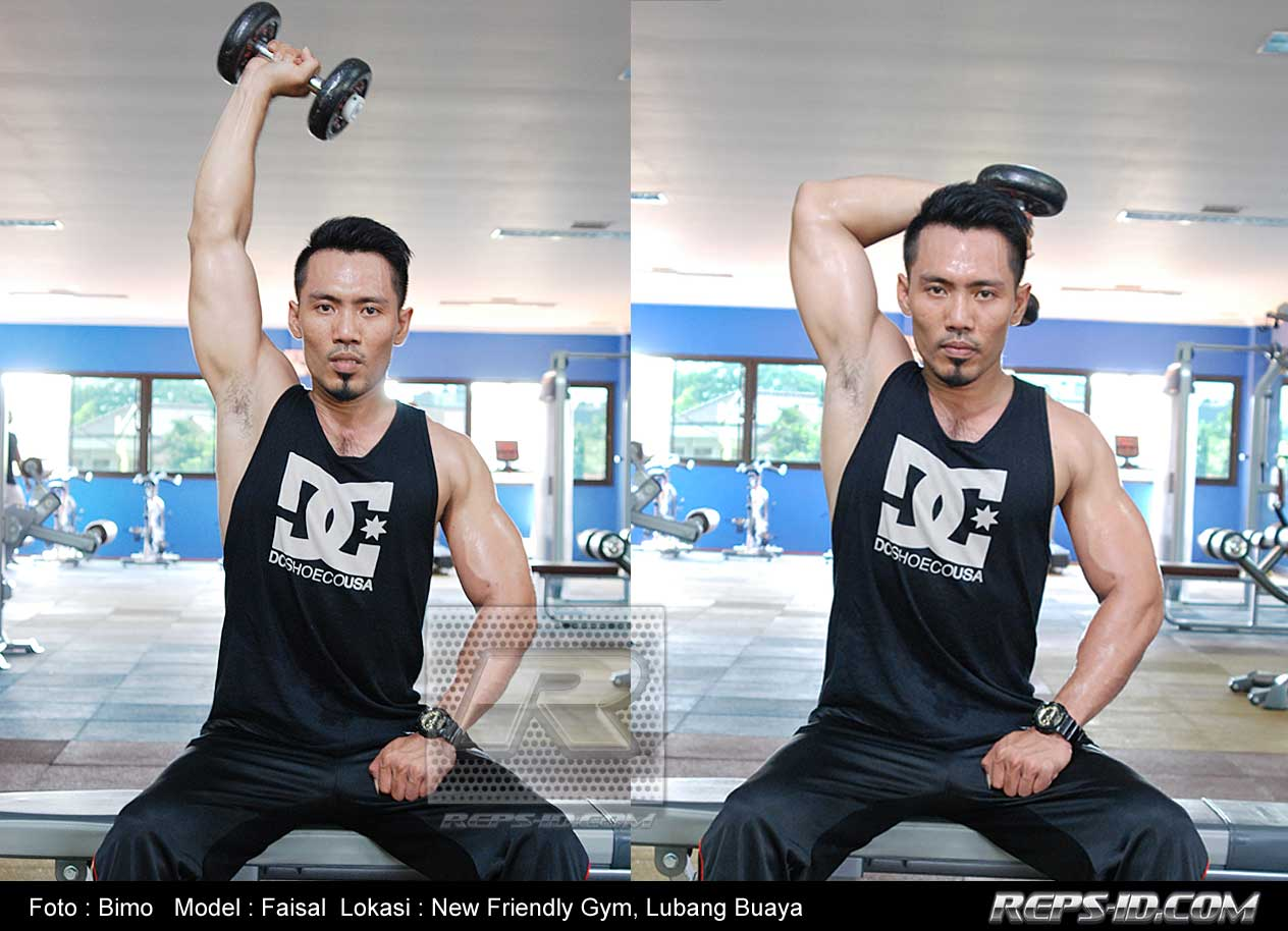 one-arm-dumbbell-extention